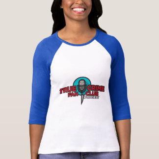 Camiseta T-shirt verdadeiro do clube de fãs do crime
