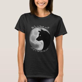 Camiseta T-shirt verdadeiro do lobo