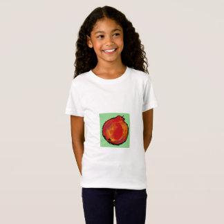 """Camiseta t-shirt vermelho """"Apple """" do abstrato da maçã"""