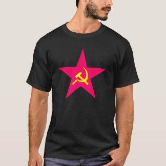Camiseta T-shirt vermelho da estrela