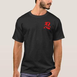 """Camiseta T-shirt vermelho de """"NIN"""""""