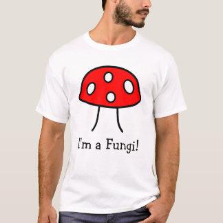 Camiseta T-shirt vermelho do cogumelo