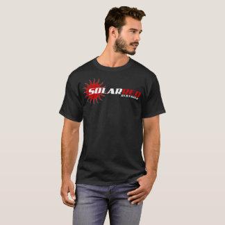 Camiseta T-shirt vermelho solar da obscuridade da roupa