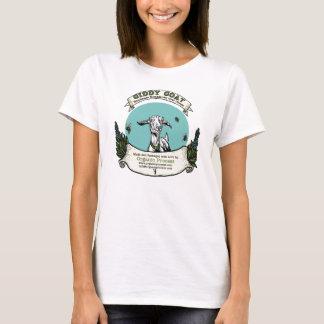 Camiseta T-shirt vertiginoso da boneca da cabra