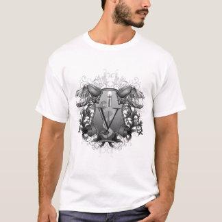 Camiseta T-shirt veterinário da crista