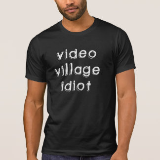 Camiseta T-shirt video do idiota da vila