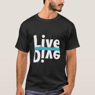 Camiseta T-shirt vivo/mergulho espelhado