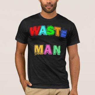 Camiseta T-shirt WASTE do HOMEM