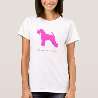 Camiseta T-shirt Wheaten brandamente revestido de Terrier