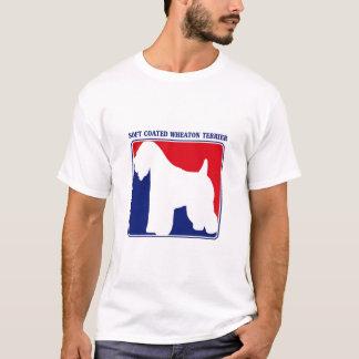 Camiseta T-shirt Wheaten brandamente revestido principal de