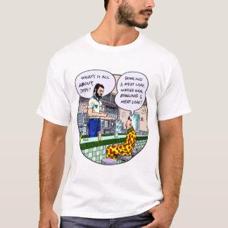 Camiseta T-shirt Zippy #1 do homem do silencioso