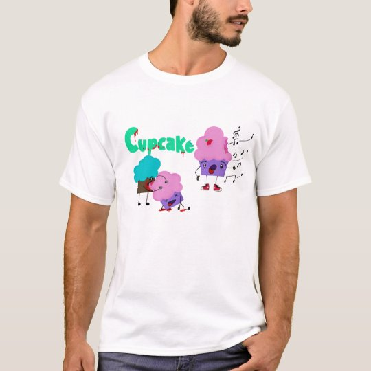Camiseta T-shirt Zombie Cupcakes