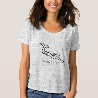 Camiseta T Slouchy de Bella da sereia do mergulho