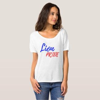 Camiseta T Slouchy do ajustado do namorado das mulheres do