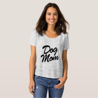 Camiseta T Slouchy do namorado da mamã do cão