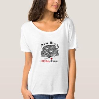 Camiseta T Slouchy do namorado das senhoras
