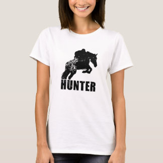 Camiseta T sujo do caçador/ligação em ponte