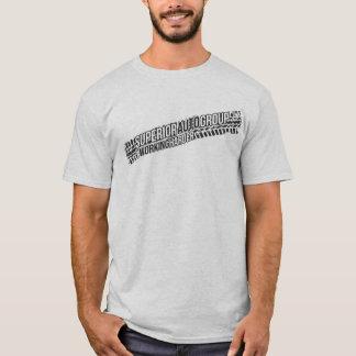 Camiseta T superior do grupo