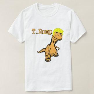 Camiseta T.T-shirt engraçado da sátira de Donald Trump do