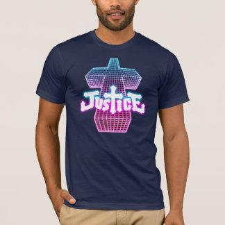Camiseta T transversal de justiça