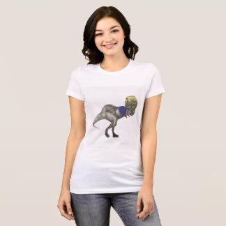 Camiseta T-traseiro