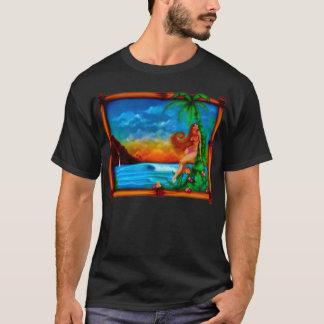 Camiseta T tropico do verão