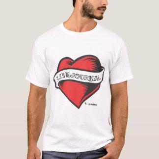 Camiseta t Ultra-macios da forma (tatuagem de LiveJournal)