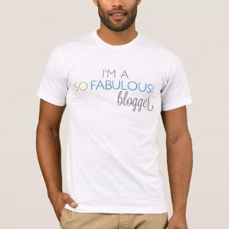 Camiseta T UNISEX do Blogger de SoFabulous