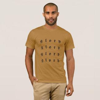Camiseta T unisex do pescoço de grupo da glória
