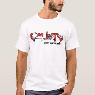 Camiseta T vazio