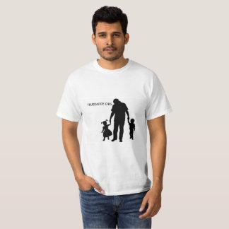 Camiseta T verdadeiro do pai