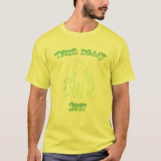 Camiseta T verdadeiro do pai da forma
