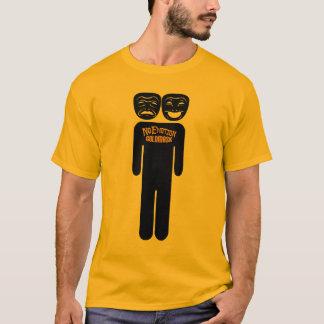 Camiseta T viril de NoEmotion