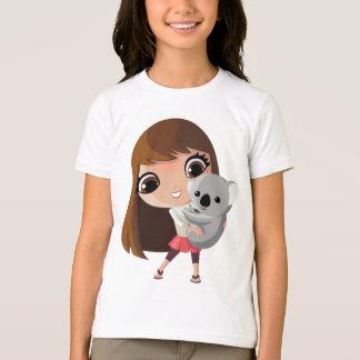 Camiseta Taara e pudim o Koala