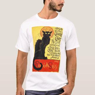 Camiseta Taberna du Conversa Noir, Steinlen