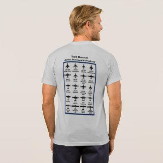 Camiseta Tac Recce #3 -- aviões históricos na parte