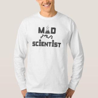 Camiseta Taça elétrica da ciência do cientista louco