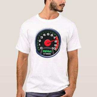 Camiseta Tacômetro em 7600 RPM