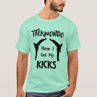 Camiseta Taekwondo ventila artes marciais como eu obtenho