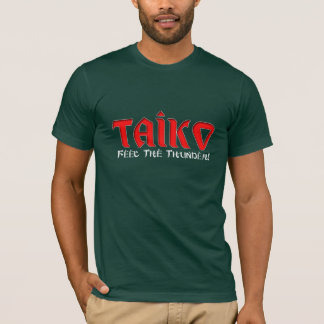 """Camiseta Taiko """"sensação o trovão """""""
