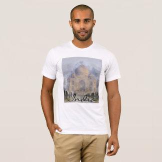 Camiseta Taj Mahal em Agra India