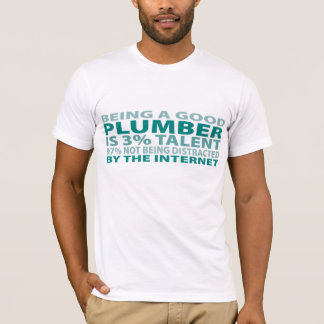 Camiseta Talento do canalizador 3%