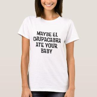 Camiseta Talvez Chupacabra do EL