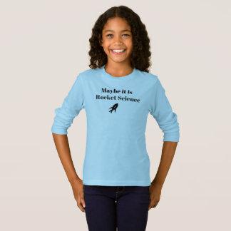 """Camiseta """"Talvez é Tshirt customizável da astronáutica"""""""