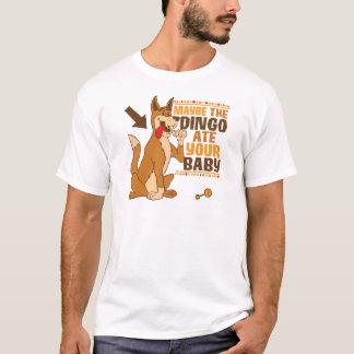 Camiseta Talvez o Dingo comeu seu bebê
