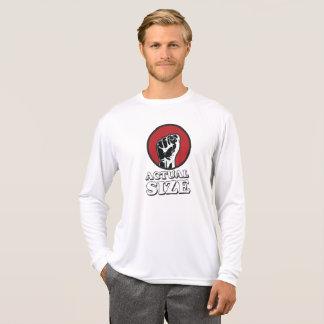 Camiseta Tamanho real