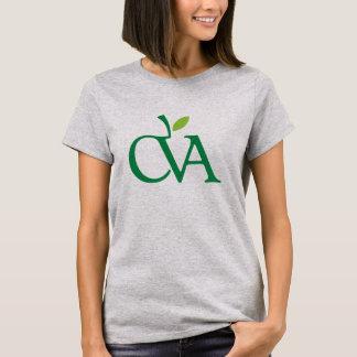 Camiseta Tamanhos adultos do t-shirt de CVA (o corte das