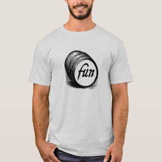 Camiseta Tambor do t-shirt do divertimento