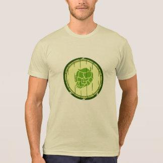 Camiseta Tambor dos saltos (o T do amante da cerveja do