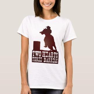 Camiseta tambor que compete o cavalo do campónio da